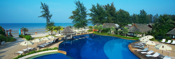 SWIMMING POOL COMPLEX Lanta Cha-Da Beach Resort & Spa Krabi